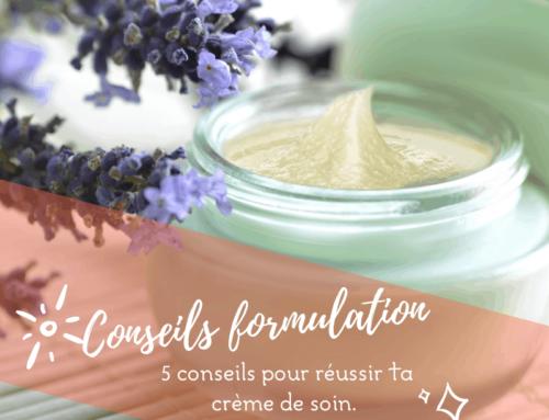 Les 5 conseils pour réussir ta crème.